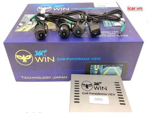 Bộ sản phẩm camera 360 ô tô Owin