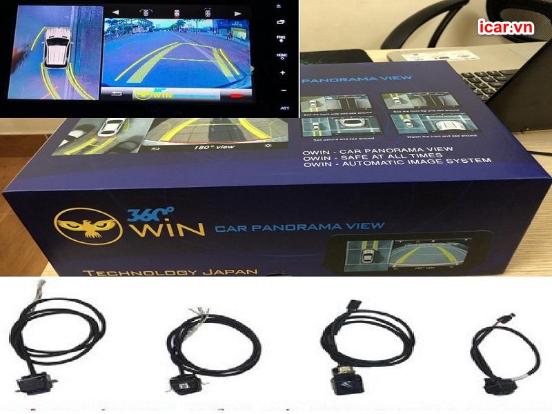 Phiên bản camera 360 ô tô Owin Pro rất được lòng người tiêu dùng