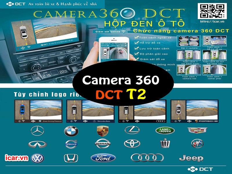 Camera 360 ô tô DCT phiên bản T2