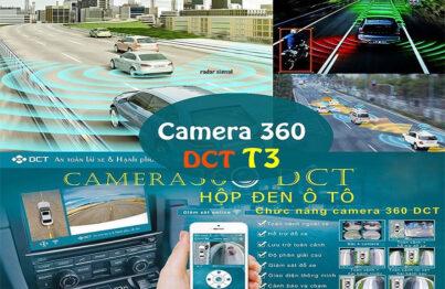 Hệ thống camera 360 DCT phiên bản T3