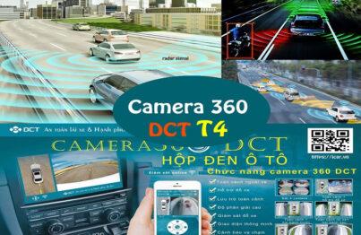 Camera 360 ô tô DCT phiên bản T4