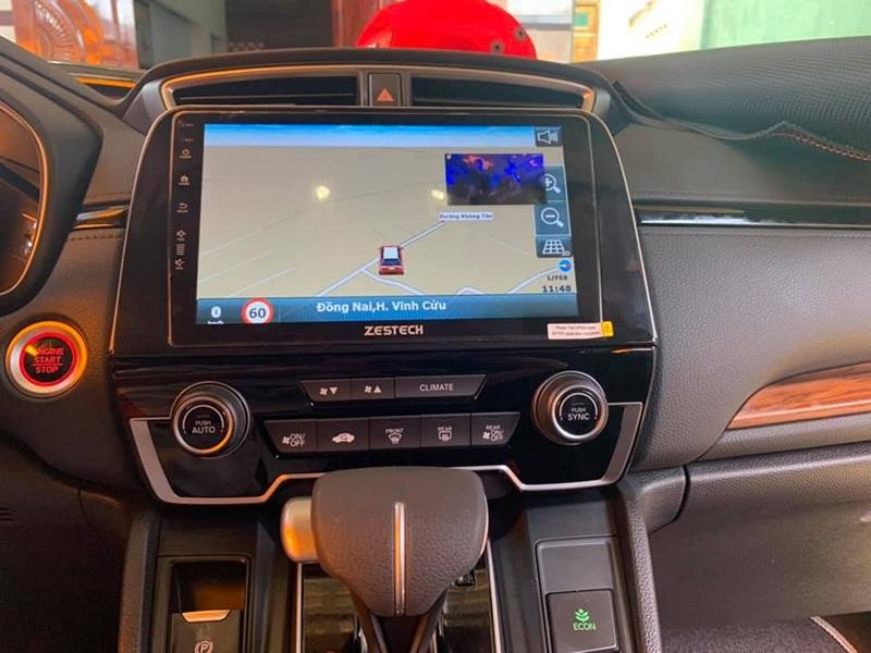 Màn hình DVD Android Zestech với tính năng chỉ dẫn đường