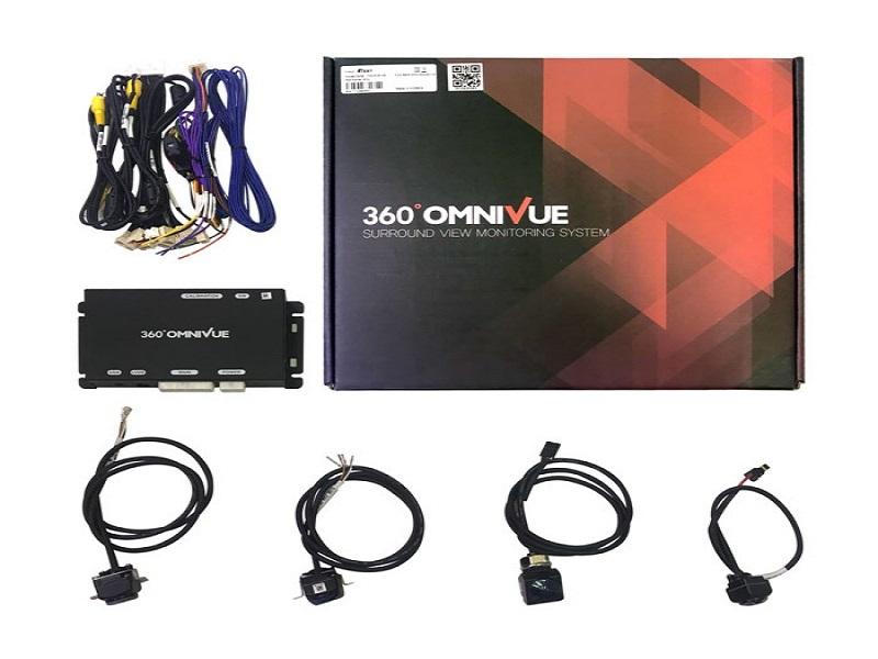 Bộ sản phẩm camera 360 ô tô Omnivue