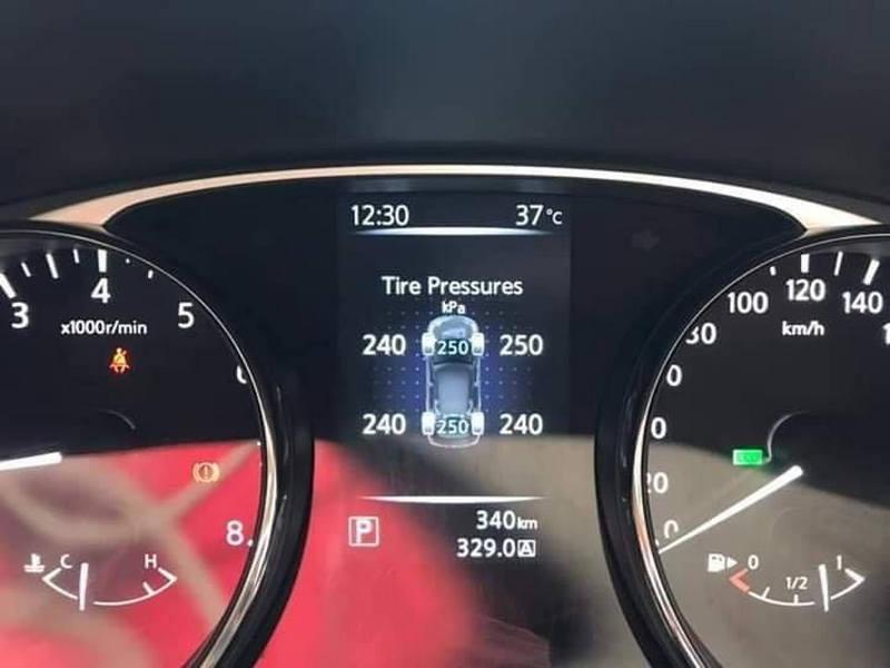 Cảm biến áp suất lốp theo xe Nissan 2019