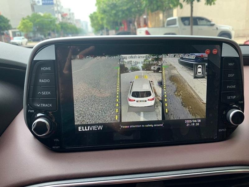 Camera 360 Elliview V4-S trên xe Hyundai Elantra