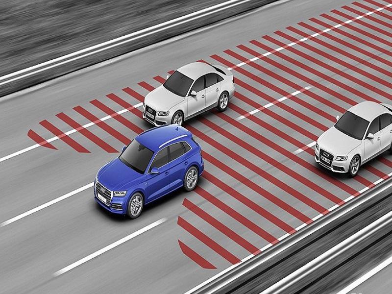 Camera 360 Elliview giúp quan sát toàn cảnh xung quanh xe, phát hiện nhanh chóng các phương tiện lưu thông phía sau xe