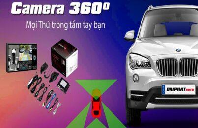 Camera 360 độ ô tô là phụ kiện dành cho xe hơi tốt nhất hiện nay