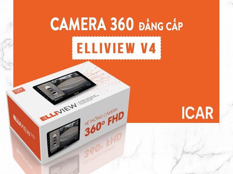 Camera 360 ô tô Elliview V4