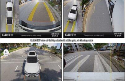 Camera 360 ô tô Elliview đa dạng về góc nhìn