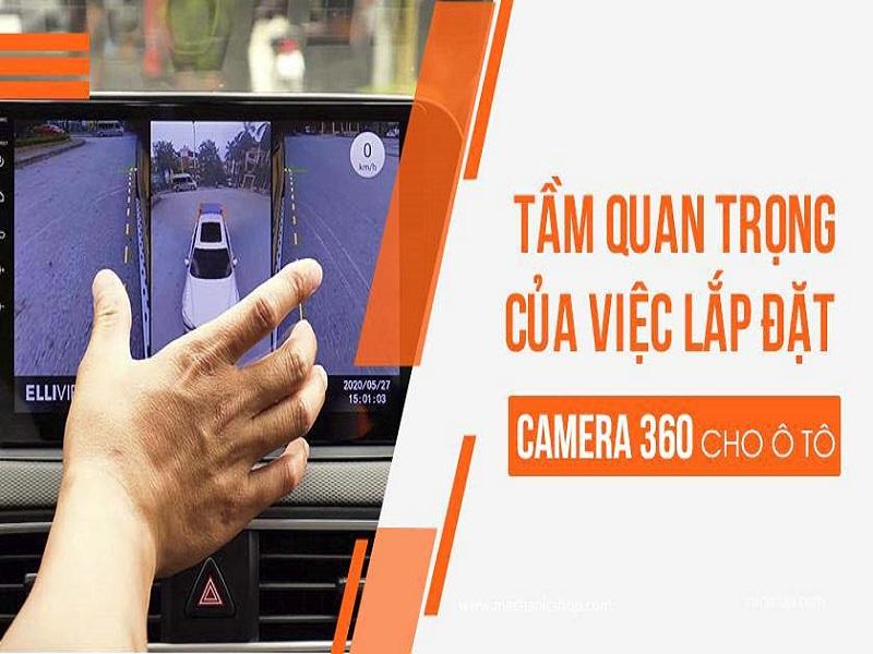 Camera 360 ô tô Elliview là mảnh ghép cuối cùng tạo nên chiếc xe hoàn hảo