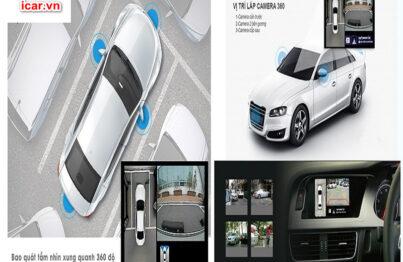 Camera 360 ô tô Oris có nhiều tính năng vượt trộ nên rất được ưu tiên sử dụng