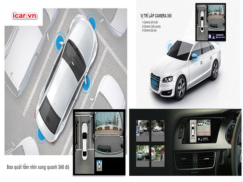 Camera 360 ô tô Oris có nhiều tính năng vượt trội nên rất được ưu tiên sử dụng