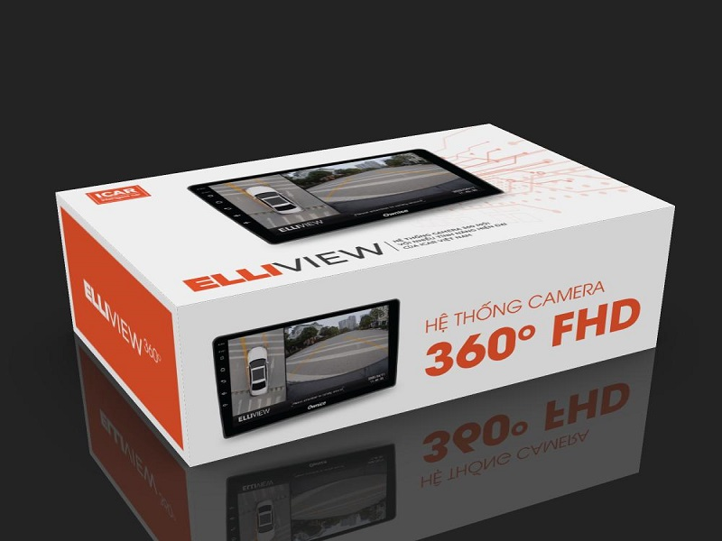 Camera 360 ô tô chính hãng Elliview sở hữu tính năng thông minh, hiện đại