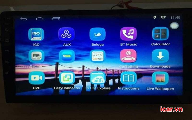 Có nên lắp màn hình DVD Android cho ô tô?