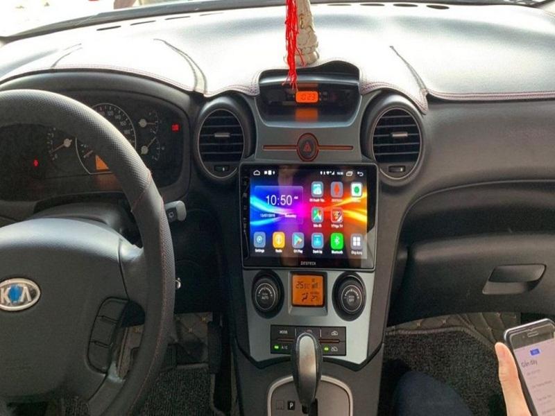 Màn hình DVD Android Zestech với thiết kế thời thượng