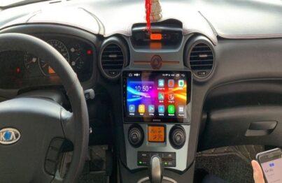 Màn hình DVD Android Zestech với kiểu dáng hiện đại
