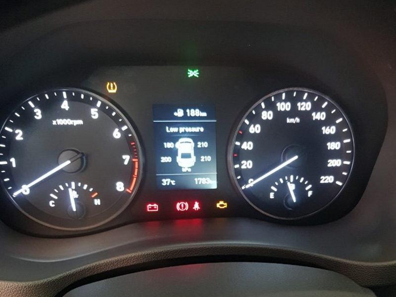 Màn hình hiển thị cảm biến áp suất lốp theo xe Icar i17