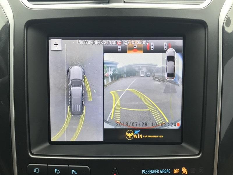 Hình ảnh hiển thị camera 360 ô tô Owin