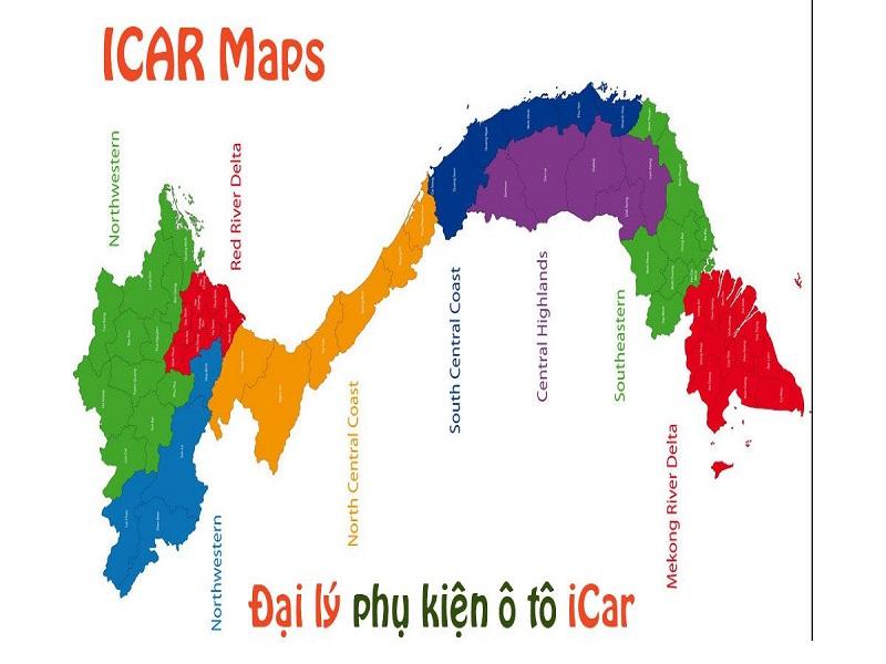 ICAR có mặt rộng khắp Việt Nam - đồng hành cùng khách hàng trên mọi chặng đường