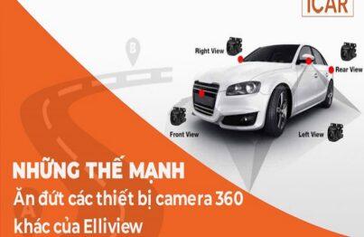 ICAR - địa chỉ trực tiếp chế tạo, khẳng định vị thế của camera 360 ô tô Ellivew