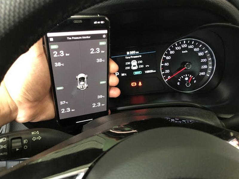 Cảm biến áp suất lốp Zin theo xe Kia Careto 2019