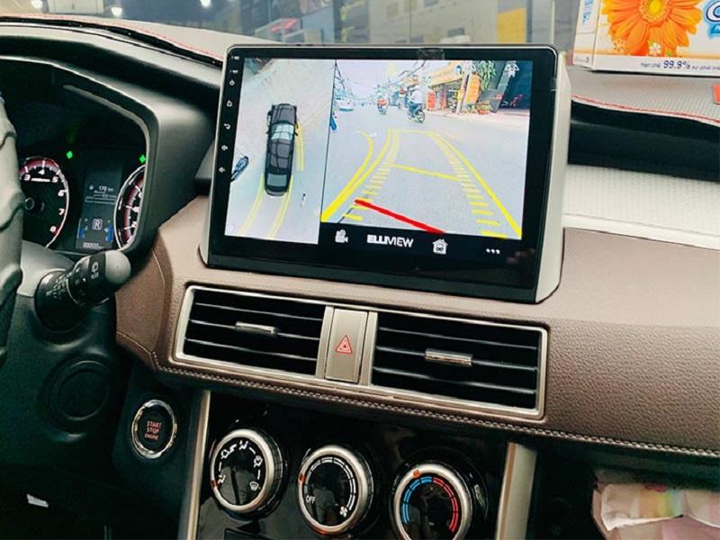 Lắp camera 360 Elliview cho ô tô Xpander