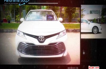 Nâng cấp hệ thống camera 360 ô tô Oris trên xe Toyota Camry