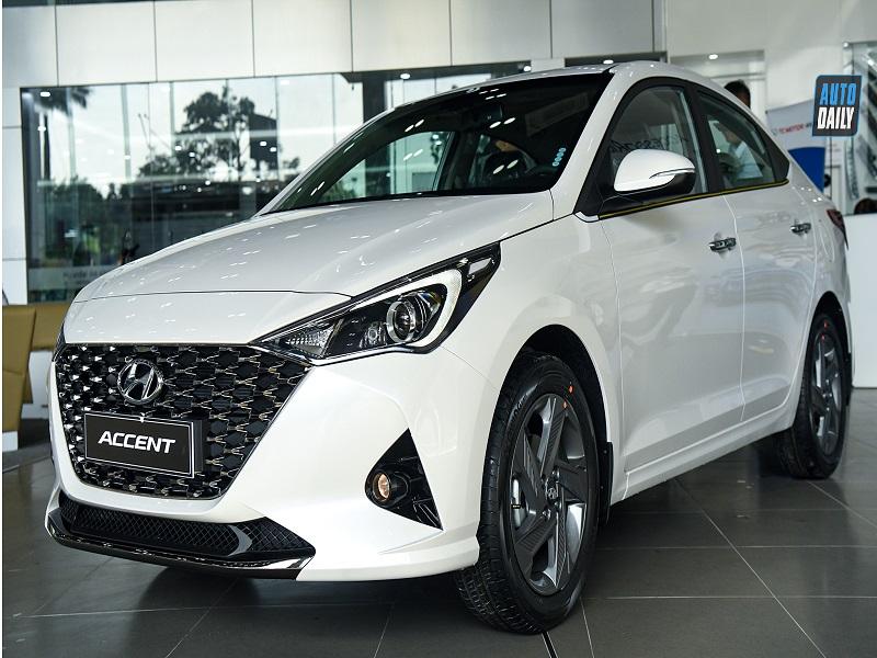Thiết kế lịch lãm, sang trọng của dòng xe Hyundai Accent