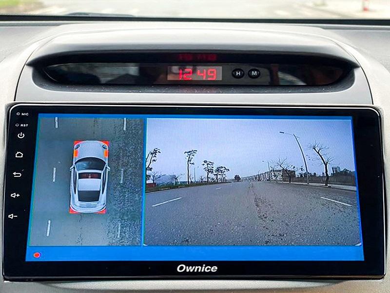 Camera 360 ô tô chạy thực nghiệm trên xe ô tô