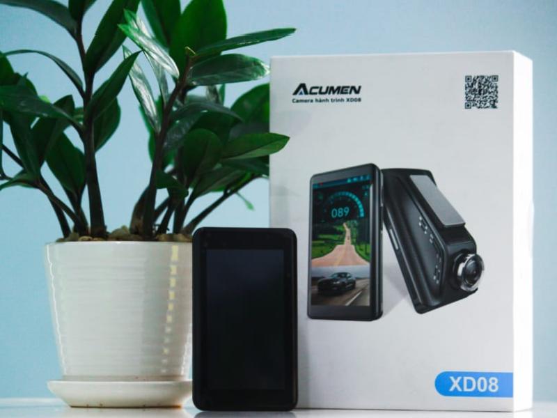 Camera hành trình Acumen với thiết kế sang trọng đẹp mắt
