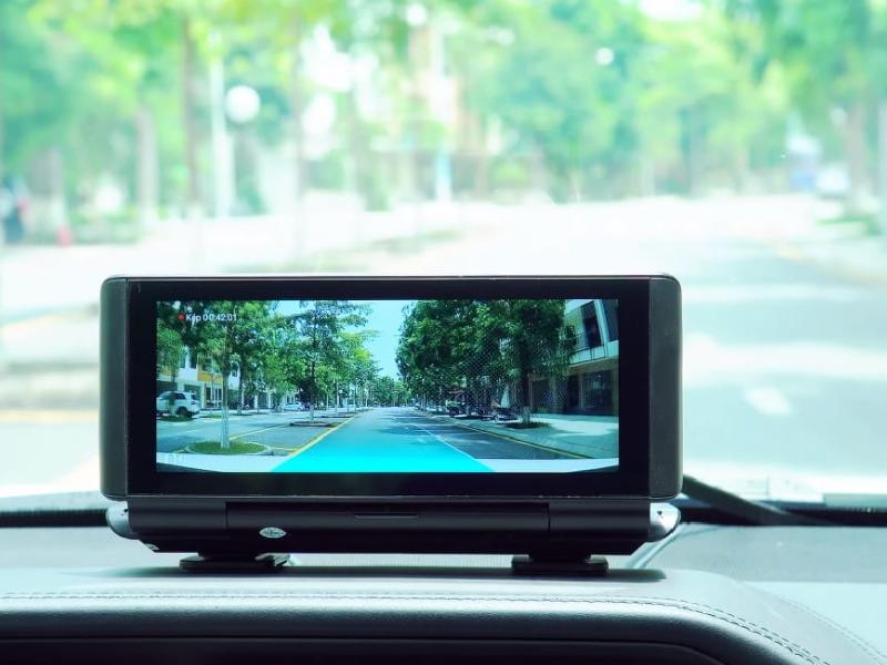 camera hành trình android với giao diện thân thiện
