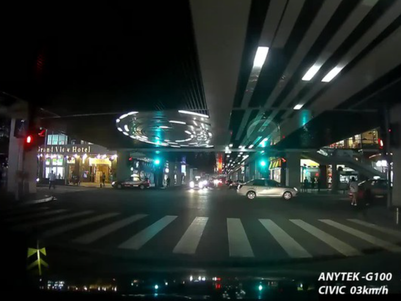 Camera hành trình ANytek với góc quay rộng cho hình ảnh sắc nét