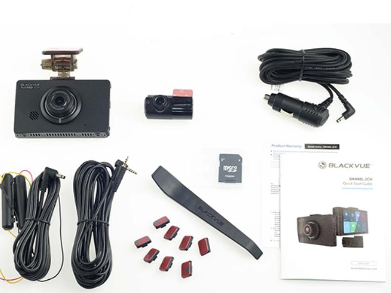 Camera hành trình Blackvue DR490L – 2CH với màn hình cảm ứng mượt mà