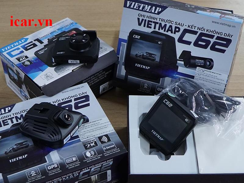 Camera hành trình Vietmap với độ phân giải Full HD