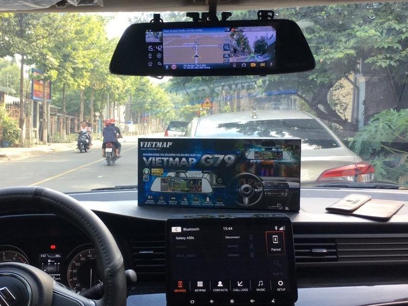 Camera hành trình G79 với tính năng c hỉ đường chính xác