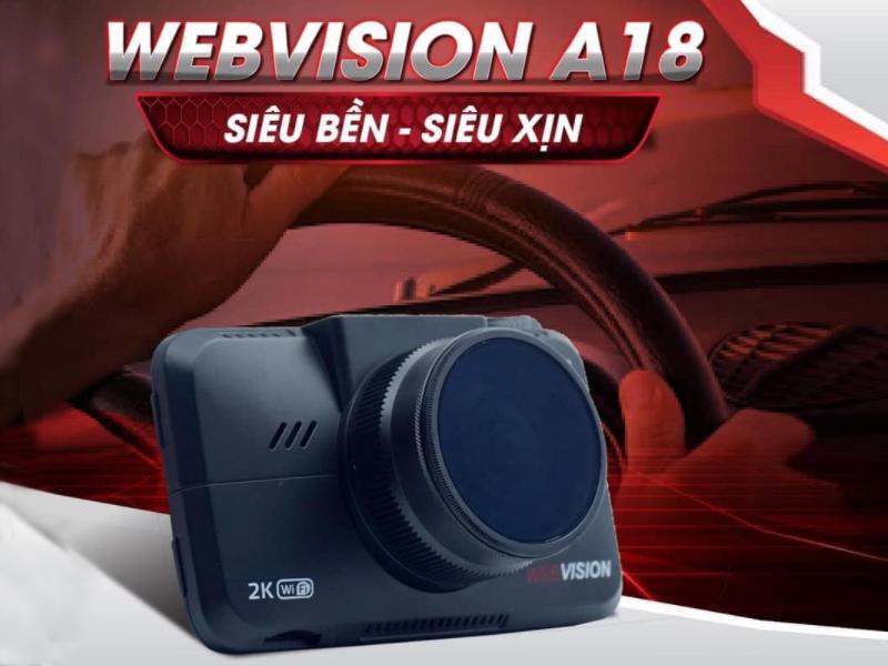 WEbvision A18 có độ bền cao