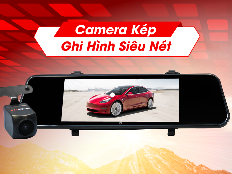 Camera hành trình webvision cho hình ảnh siêu nét