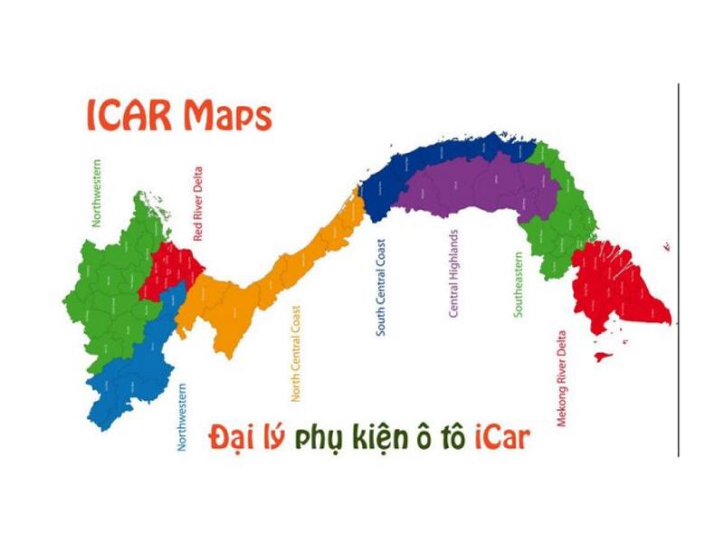 Hệ thống Đại lý phân phối đồ chơi xe hơi nội thất ô tô của ICar