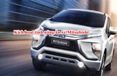 Hướng dẫn kích hoạt tính năng ẩn xe Mitsubishi Xpander 2019