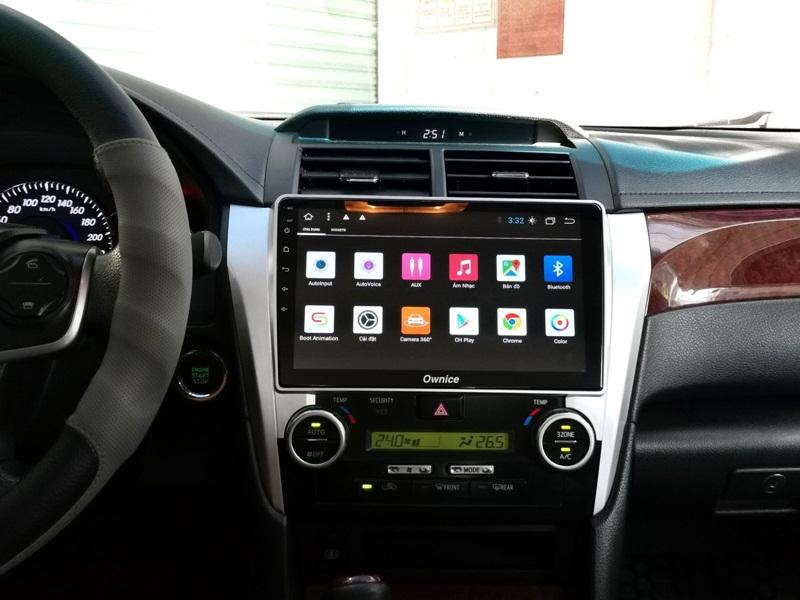 trải nghiệm cùng màn hình DVD Android Ownice Icar