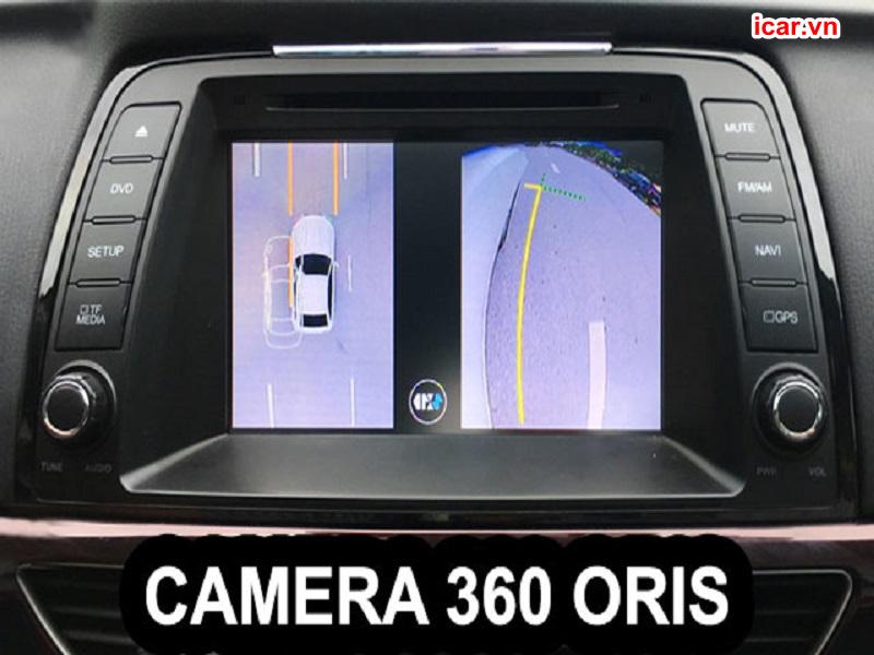 Màn hình hiển thị hình ảnh của camera 360 Oris