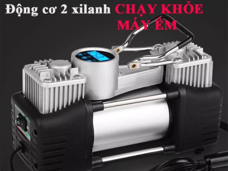 Bơm điện 2 xilanh với khả năng bơm nhanh