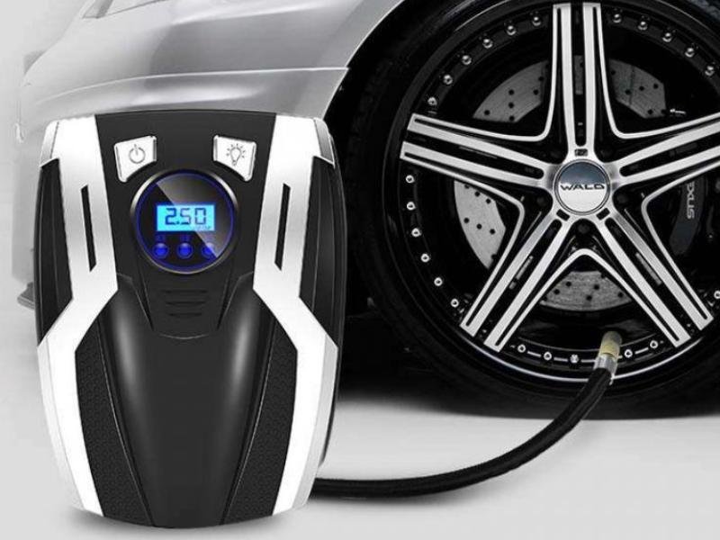 Bơm lốp ô tô mini với nhiều mẫu khác nhau