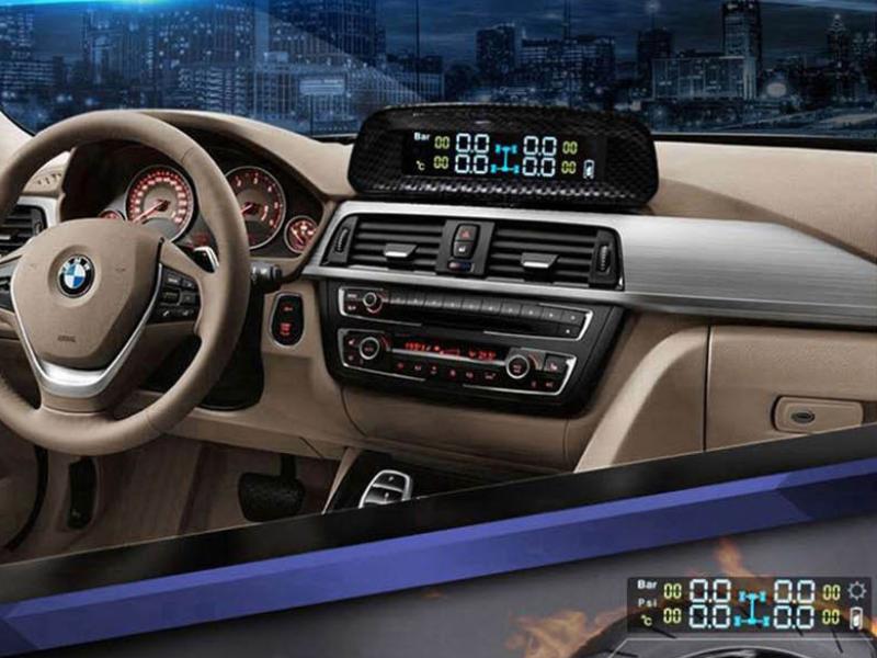 Cảm biến áp suất lốp Ellisafe nâng cao an toàn cho xe hơi