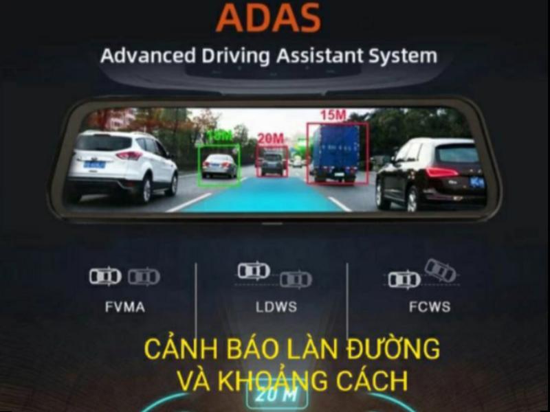 Camera hành trình Acumen với tính năng ADAS