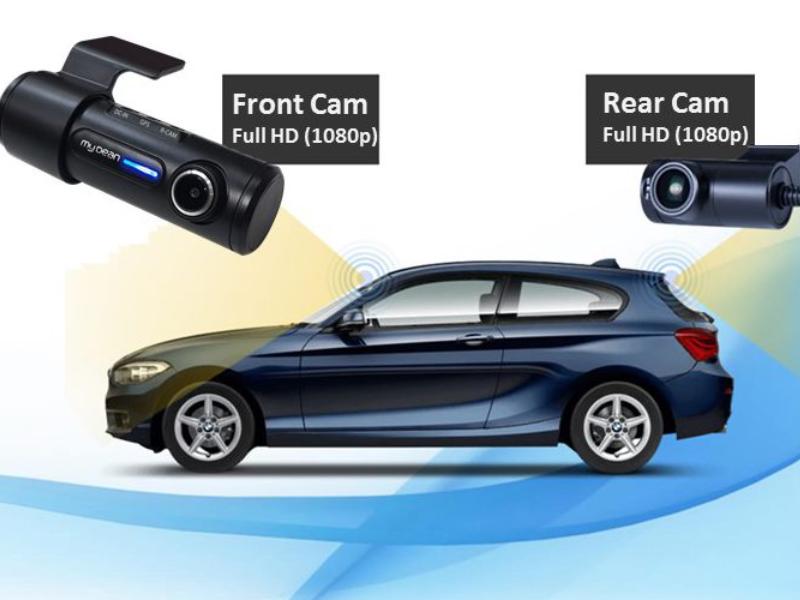 Camera hành trình Mydean E9 với thiết kế sang trọng