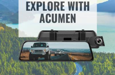 Camera hành trình Acumen với tính năng ghi hình sắc nét