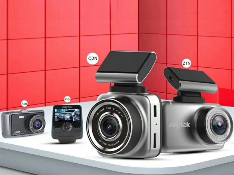 Camera hành trình Anytek với thiết kế sang trọng