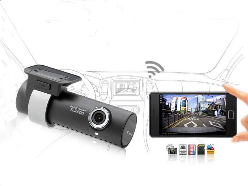 Camera hành trình Blackvue với khả năng phát lại video trên điện thoại