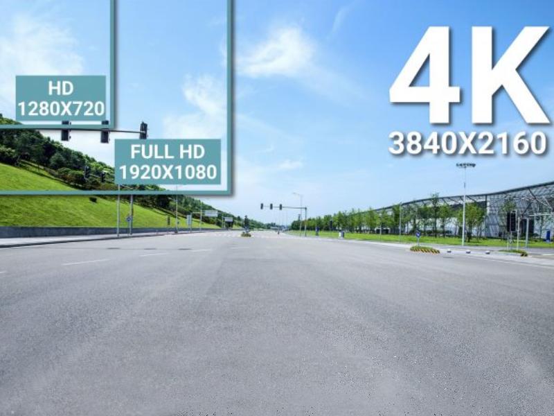 Camera hành trình Blackvue 900S cho độ phân giải 4k Untra HD